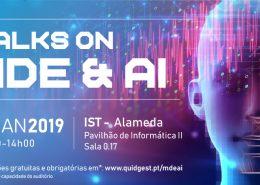 talks on MDE & AI, quidgest