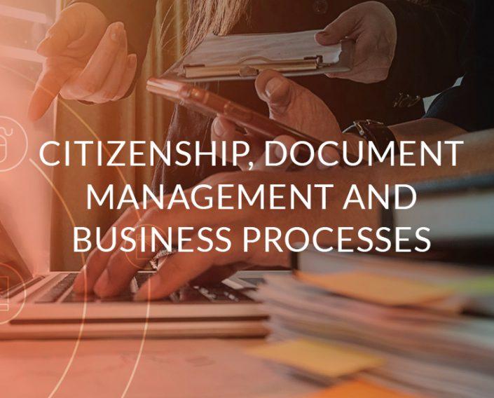 Citizenship, Document Management and Business Processes Quidgest
