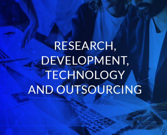 Research, development, technology and ourtsourcing