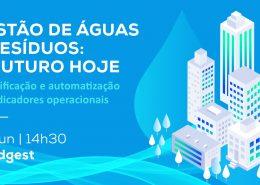 automatizaçáo na gestão de águas e resíduos