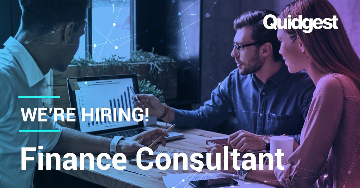 Quidgest is recruiting a finance consultant