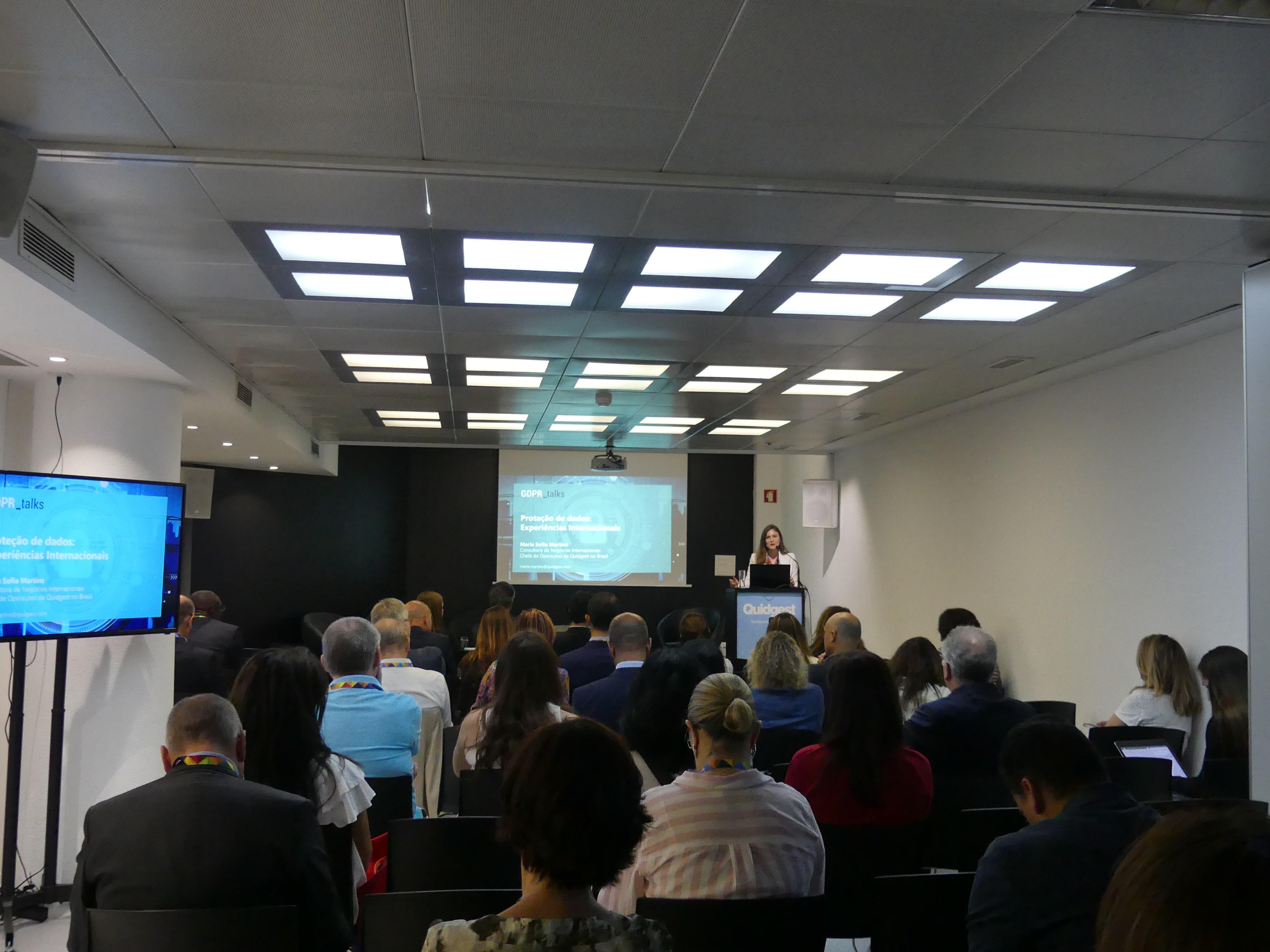 evento sobre regulamento geral de proteção de dados