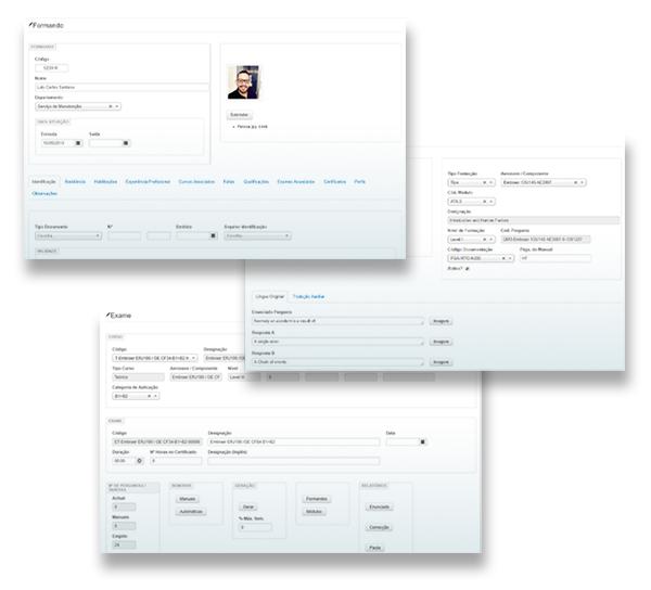 gestão de exames online