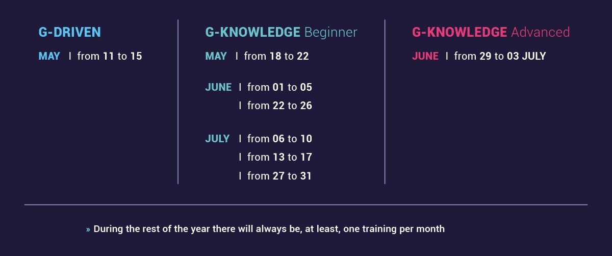 quidgest academy calendar may