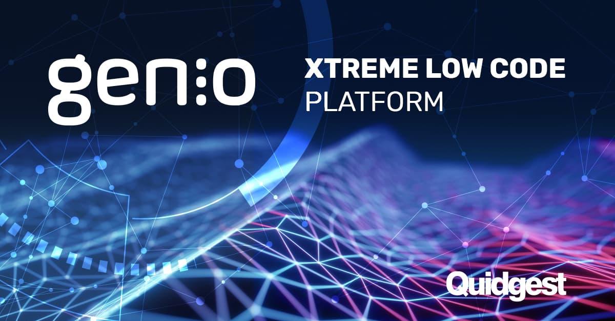 genio xtreme low code platform