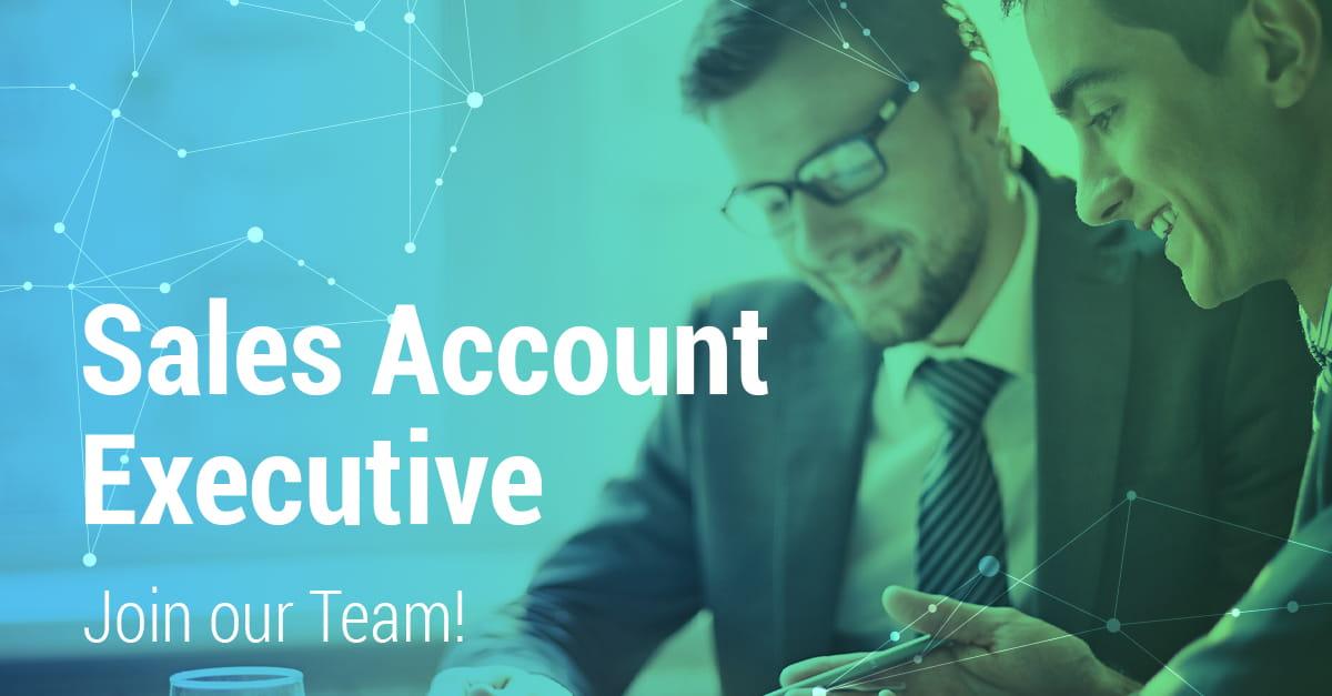 vaga para sales account executive
