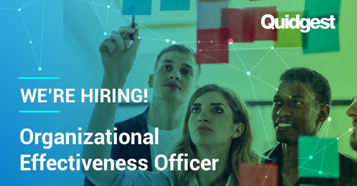 organizational effectiveness officer quidgest